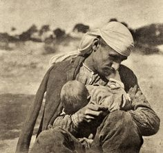 Greek refugees from Asia Minor. 1925 - 4 vintage sepia- and green-toned oil pigment prints. Greece Pictures, Greece Photography, Greek History, Vintage Pictures, Old Photos, True Stories, Nostalgia, The Past, Asia