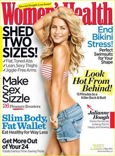 I chose this image because I love Julianne Houghs from dancing with the stars! This magazine has a good mix of health, fitness, beauty, food and fashion!