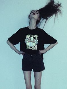 Thinspiration - Join the Pro Ana and Pro Mia Community Skinny Inspiration, Body Inspiration, Skinny Love, Skinny Girls, Grunge Fashion, Look Fashion, Shorts Negros, Estilo Retro, Body Motivation