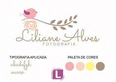 Serviço: Kit ID com Logo ilustrada Cliente: Liliane Alves Cidade: São Paulo - SP Logovisual é marcas com criatividade. #logovisual