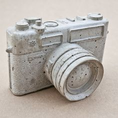 Concrete Camera Vintage Replica Décor  Yashica by Reconsiderit, $50.00