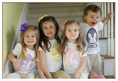 Sweet Bunny Easter Shirt. How cute is this for the kids!