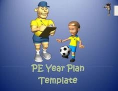 This product is for a physical education - year long plan template that can easily be adapted and manipulated to adjust to your grades, dates and planning style.