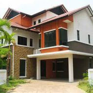 Rumah banglo 2 tingkat Dream Home Design, House Design, Malaysia Travel, Home Fashion, Hotel Deals, Hotels And Resorts, House Plans, Shed, Villa