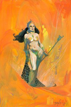 Princess of mars dejah thoris Comic Art