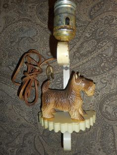 Vintage CAST IRON Scottie Dog and Frog Figurine Ashtray or ...