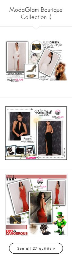 """""""ModaGlam Boutique Collection :)"""" by selmica11 ❤ liked on Polyvore featuring CHI, modaglamboutique and dresses"""