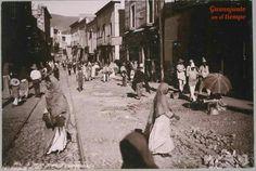 Avenida Juárez a finales del siglo XIX