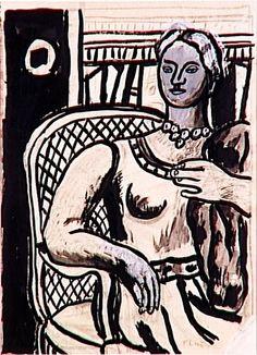 Study for a Portrait (1945) Fernand Léger