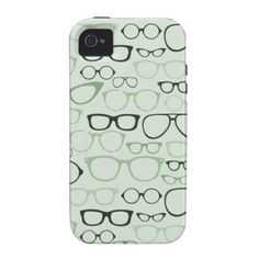 676f4eb1195 Mint Hipster Glasses iPhone case Hipster Glasses