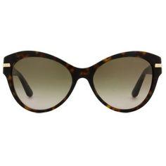 Versace VE4283B Women's Sunglasses ($295) ❤ liked on Polyvore featuring accessories, eyewear, sunglasses, tortoise, tortoiseshell sunglasses, round cateye sunglasses, round tortoise sunglasses, tortoiseshell cat eye sunglasses and tinted sunglasses