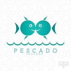 stocklogos, unused logo, unused logos, fish logo, aquarium logo, aquatic logo… Make Your Own Logo, Create Your Own, Sailing Logo, Sushi Logo, Sea Logo, Gradient Logo, Premium Logo, Logo Maker, Salmon