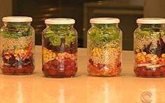 truque de porções de salada para maior durabilidade