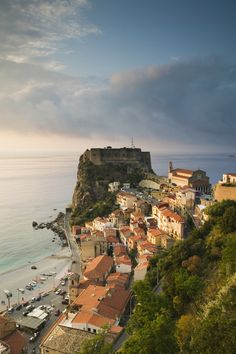 Scilla is a popular beach town at the toe of Italy's boot—but fans of Greek mythology will also be delighted to know it is where the sea creature Scylla tormented Odysseus on his adventures.