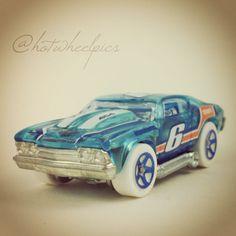 #179 - '69 Chevelle - 2014 Hot Wheels - HW Race - X-Raycers