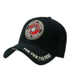 5dbc1f581f8 Marines Logo Legend Cap Black (USMC) Marines Logo