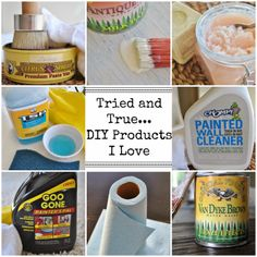 Tried and True... DIY Products I Love!