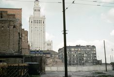 Palace of Culture and Science, 1950s/60s; photograph by John Herman Schultz