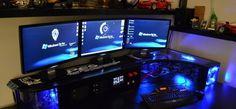 Bureau pour gamer DIY