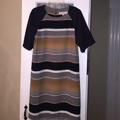 The Loft dress Cute Loft dress worn a couple of times.  Great dress for the spring. LOFT Dresses