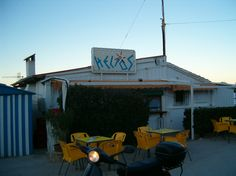 Helios Bar , Denia, Spain - Best bar in the world, the other side steps down to the sea.
