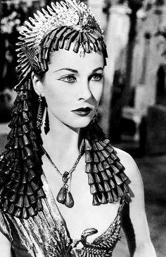 Vivien Leigh as Cleopatra 1945