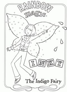 rainbow magic coloring pages | coloring Pages | Pinterest | Rainbow ...