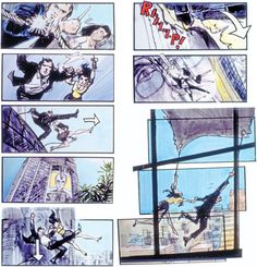I didn't think it was James Bond till I read the description. The action is obvious in each frame. Its very intense.