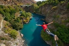 The Original Kawarau Bridge Bungy (Adrenaline rush junkie)