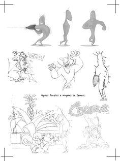 bocetos cerues