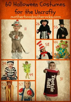 60 #Halloween Costumes for the Uncrafty - Motherhood on the Rocks