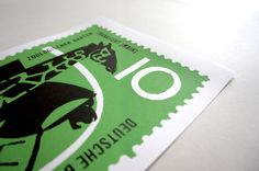 Zoologischer: Zoo Stamp Exclusive Limited Edition Screenprint - £20 available at: www.bytomlove.com #design #typography #art