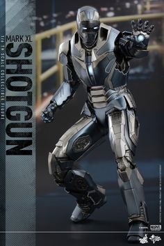 Iron Man Mark XL Shotgun Armor Cools Our Jets While We Wait for Iron Man 4 -  #collectible #hottoys #ironman