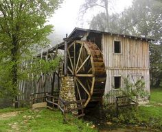 Waterwheel  Flea Market & Old Grist Mill on Hwy. 63 / 62 east of Hardy. At Mile Marker 11.  Sharp Co - AR
