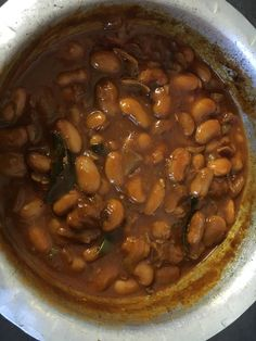 Butter beans curry