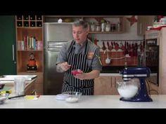 Tutorial Completo de Macarons com os Corantes Gran Chef com Flávio Federico - YouTube