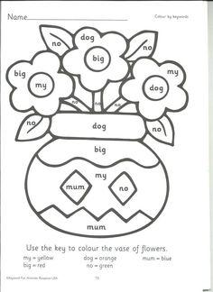 coloring sheets using phonics worksheet coloring pages phonics coloring pages info sight word coloring sheets coloring sheets using phonics jolly phonics alphabet worksheets Geometry Worksheets, Alphabet Worksheets, Kindergarten Worksheets, Worksheets For Kids, Coloring Worksheets, Fun Math Games, Fun Activities, Coloring Sheets, Coloring Pages