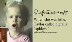 taylor swift facts hahah all swifties know this because of the Best Day music video!