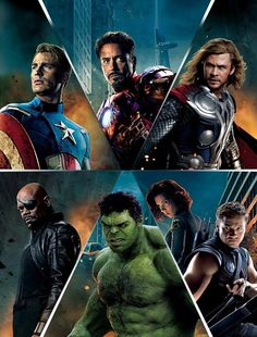 The Avengers #marvel #avengers