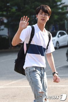 [Picture/Media] BTS Going to Music Bank [150703] | btsdiary