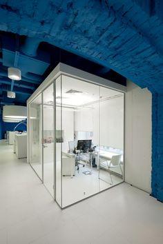 Oficinas OPTIMEDIA Media Agency,© Ilya Ivanov