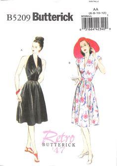 BUTTERICK 5209 - UNCUT - MISSES DRESS