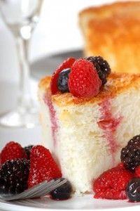 Vanilla Angel Food Cake Recipe | Amazing Mexican Recipes
