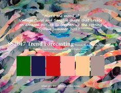 SS/2017 trend forecasting
