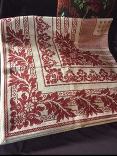 Creative Embroidery, Rug Hooking, Projects To Try, Cross Stitch, Rugs, Tablecloths, Handmade, Patterns, Ideas