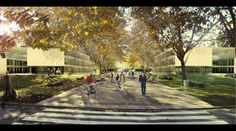 UB Campus by Ramón Sanabria and Patxi Mangado architects First prize    3d design by Graph.cat