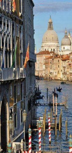Santa Maria della Salute, Venice, Veneto, Italy by Deborah Guber
