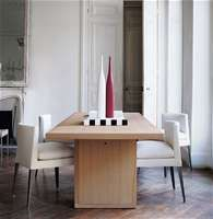 "Chairs: EUNICE -"" Collection: Maxalto - Design: Antonio Citterio"