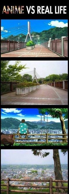 Beautiful | Anime vs Real World