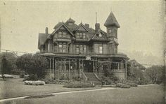 Henry Yesler Victorian home once located in Seattle, Wa